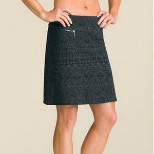 Athleta Graphic Print Skirt W/zip Size XXS